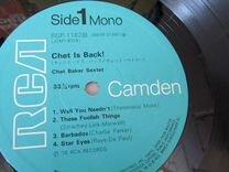 Chet Baker Sextet Chet Is Back RGP-1182 mono J