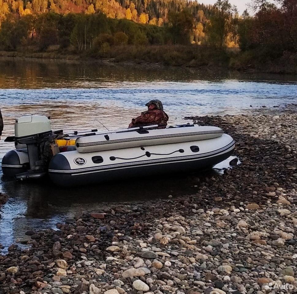 Лодка пвх Аляска 380, мотор Ямаха 30 с водометом  89069469623 купить 1