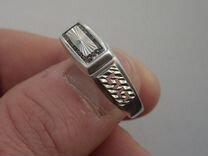 Мужская печатка серебро