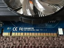 Видеокарта GeForce GTX 550 Ti (Gigabyte) 1 GB