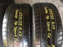 235 55 R17 летние шины Dunlop sport01
