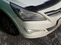 Hyundai solaris-15 Солярис Бамперы окрашенные
