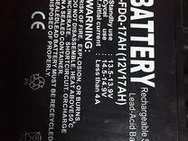 Акб батарея 12v 17Ah