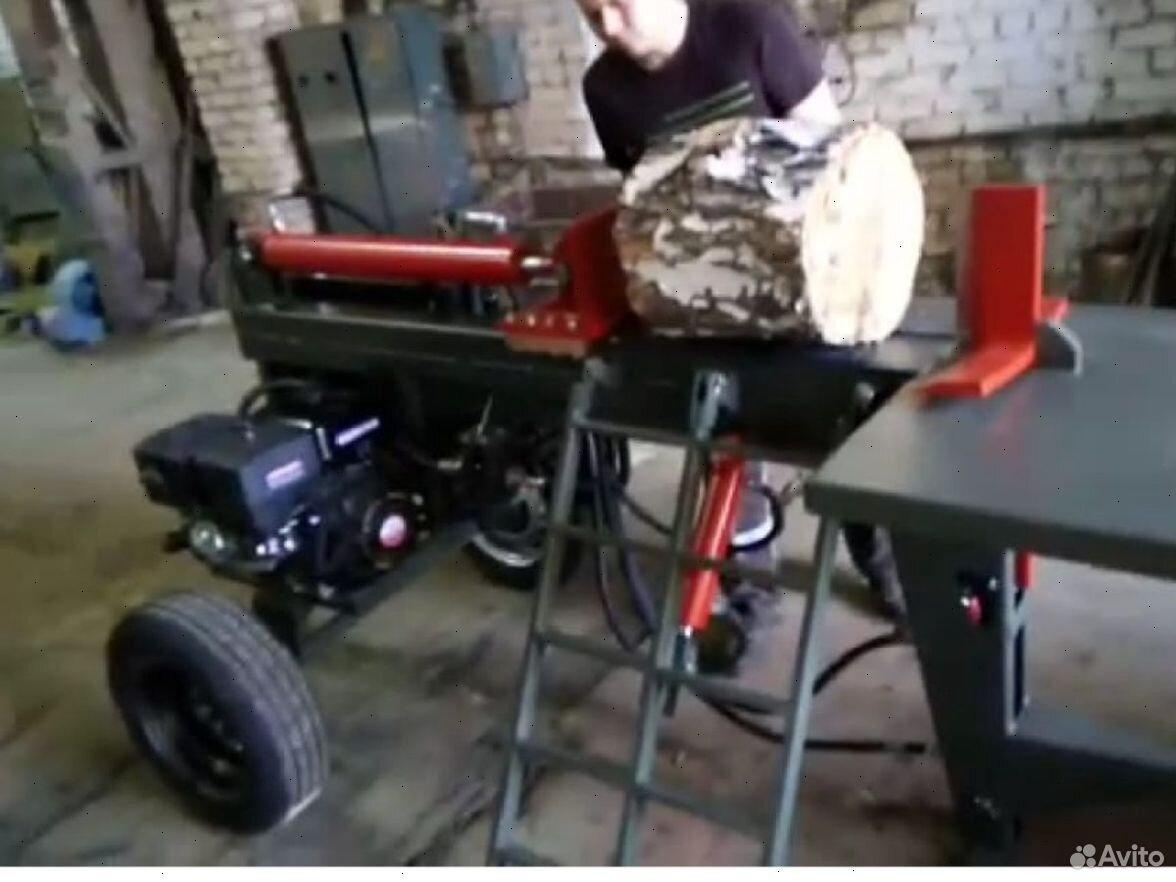 Logga hydraulisk splitter