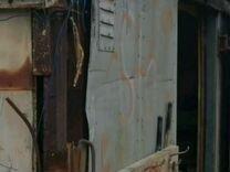 Хлебная будка внутри обшита фанерой 10 мм