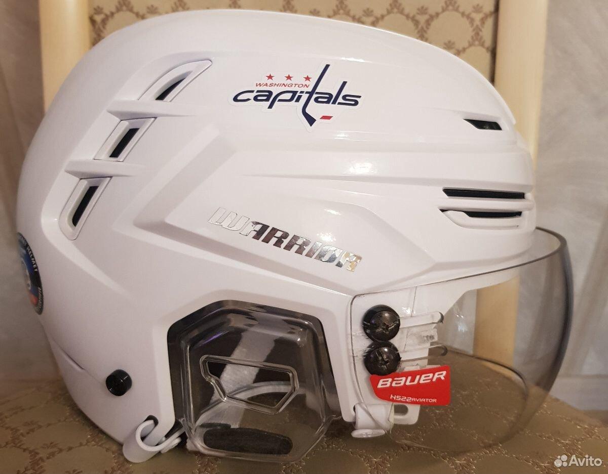 Топовый хоккейный шлем Warrior alpha one. Размер M  89143382906 купить 3