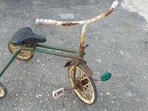 Старый велосипед СССР