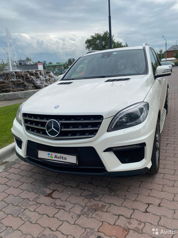 Mercedes-Benz M-класс AMG, 2012  89283999958 купить 1