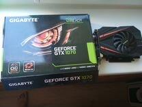 Видеокарта GTX 1070 OC Gigabyte