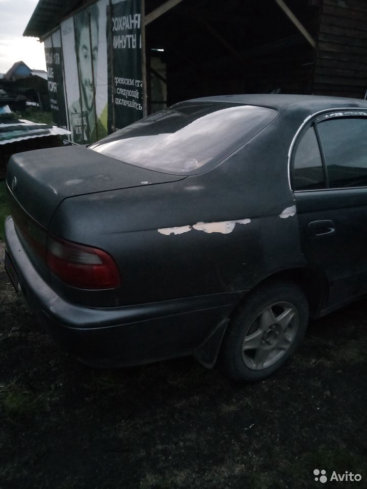 Toyota Corona, 1992  89609425968 купить 5