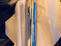 Накладка на глушитель 18423-mba-003 Хром. Honda vt