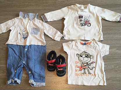 Пакет фирменной одежды 56-68 для мальчика