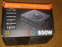 Блок питания Thermaltake RGB 850W 80+ gold