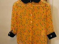 Оригинальная шифоновая блуза