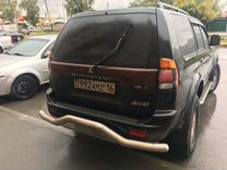 Защита бампера зад Mitsubishi Pajero Sport