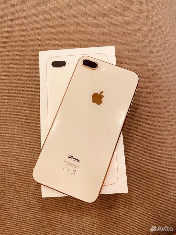 iPhone 8 plus 64Gb gold отличное состояние  89221967853 купить 2
