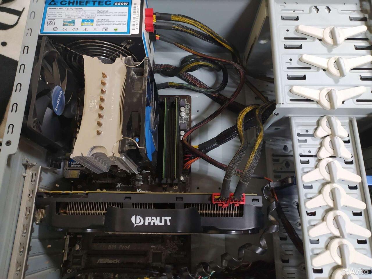 Игровой компьютер на i7  89287033319 купить 1