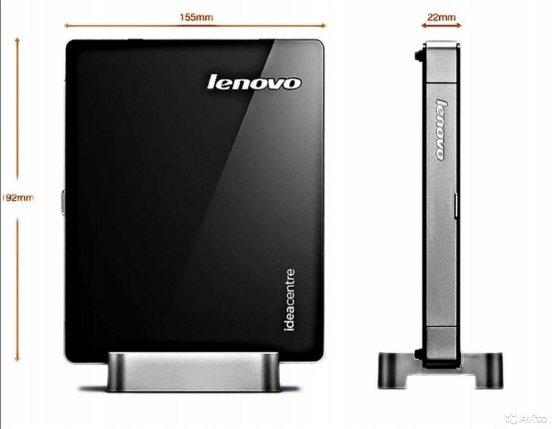 Новый настольный компьютер Неттоп Lenovo IdeaCetn  89025051199 купить 1