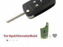 Ключ с имобилайзером для opel