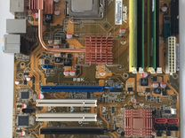 Мат. плата Asus P5K+Core2Duo 6400+ddr2 (1.5gb)