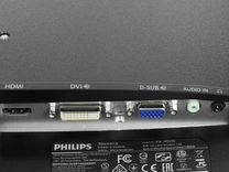 """На гарантии IPS Philips 24"""" (60см) 1080 HDMl DVI"""