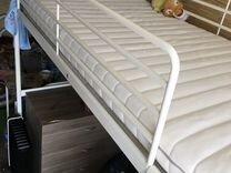 Кровать Икеа (IKEA) Свэрта Размер 90x200 см, белая